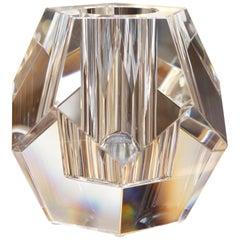Crystal Candle Prism Candleholder