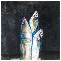 Sardine Colazione Fish Painting