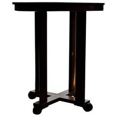 Art Deco Oak Side Table, 1930