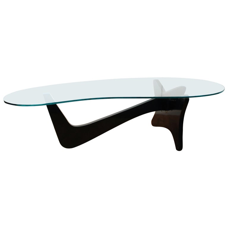 Mid-Century Modern 'Airplane' Coffee Table In Noguchi