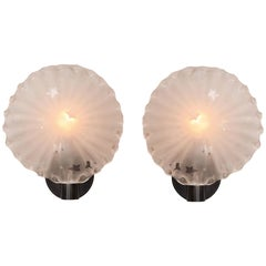 Pair of 1950s Italian 'Star' Wall Lights