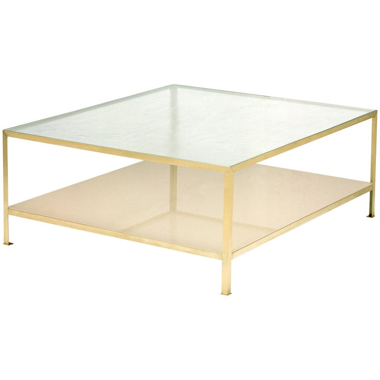 90 Degree Square Coffee Table Small For Sale At 1stdibs