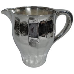 Tiffany Craftsman Hand-Hammered Water Pitcher with Special Hand Work