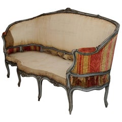 Large Louis XV Period Painted Sofa, circa 1760