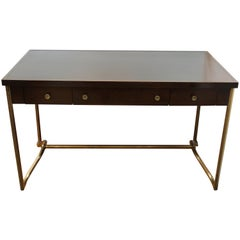 Baker Furniture Modern Desk with Leather Top