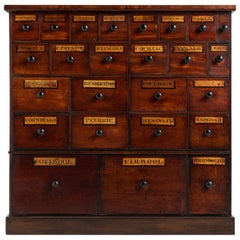 Apothecary Chest of Drawers, England, circa 1890