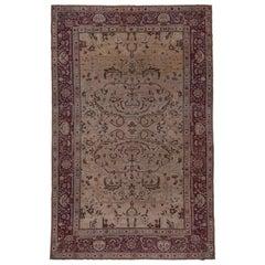 Antique Indian Amritsar Carpet, circa 1920s