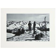 Alpine Ski Photograph 'DAVOS, PARSENN' Taken from 1930s Original