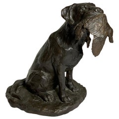 "Bronze ""Labrador Retreiver"" by William H. Turner, Edition of 25"