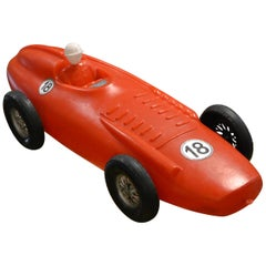 1960s Extra Large Racing Car Toy with Driver