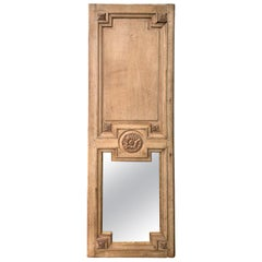 18th Century French Boiserie Panel with Mirror