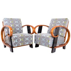 Originally Vienna Art Deco Armchairs