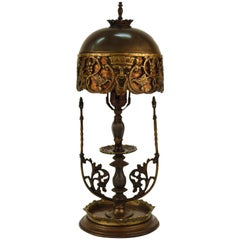 Oscar Bach Bacchus Boudoir Table Lamp with Mica Shade
