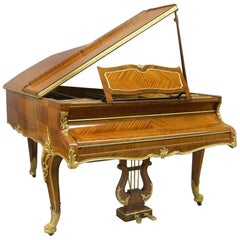 Fine Early 20th Century Gilt Bronze Mounted Grand Erard Piano by François Linke