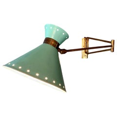French Articulating Sconce by Lunel