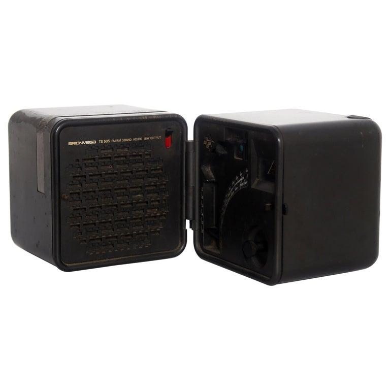 TS 505 Cube Radio by Marco Zanuso & Richard Sapper for Brionvega, 1976 For Sale