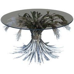 Coco Chanel Silver Plated Coffee Table