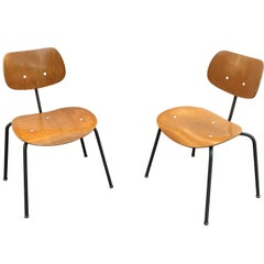 Dining Chairs by Egon Eiermann for Wilde & Spieth