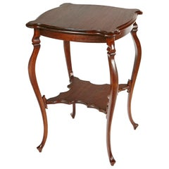 Cabriole Leg Side Table