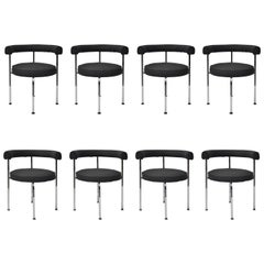 Set of 8 Mid-Century Modern Dining Chairs