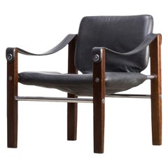 1980s Maurice Burke 'Safari' Lounge Chair for Arkana