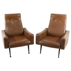 Set of 2 1950s Armchairs