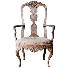 18th Century Rococo Armchair