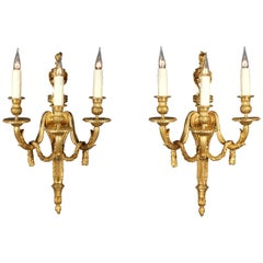 Fine Pair of Louis XVI Style Wall-Lights