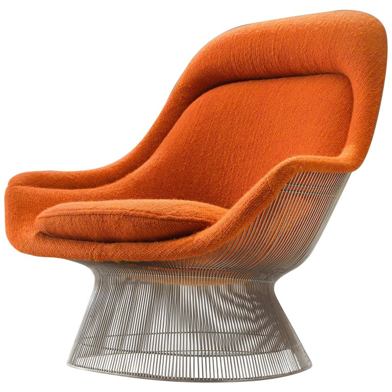 Warren Platner easy chair, 1960s, offered by Morentz