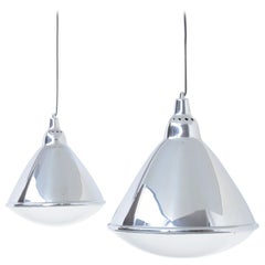 Pair of Headlight Pendant Lamps by Ingo Maurer for Design M