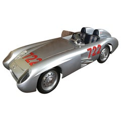 1/2 Scale Mercedes-Benz 300 SLR 722 Junior Car, Signed by Sir Stirling Moss