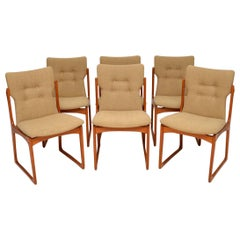 1960s Set of Danish Vintage Teak Dining Chairs
