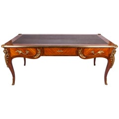 19th Century Louis XV French Bureau Plat