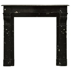 Petit French Marble Fireplace Mantel