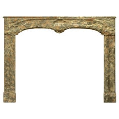 Monumental 18th Century Dutch Louis XIV Fireplace Mantel