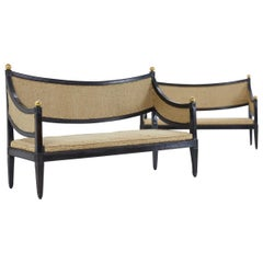 Pair of 18th Century Italian Sofas