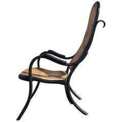 Beautiful Rare Thonet High Back Armchair No 6351