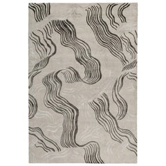 Wake Hand-Knotted 10x8 Rug in Wool and Silk by Kelly Wearstler