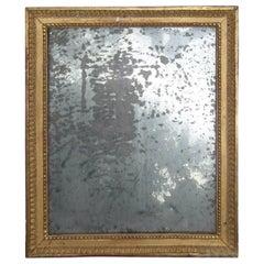 Elegant Louis XVI Mirror with Original Mercury Glass