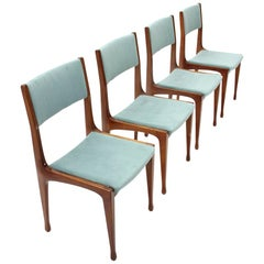 Model 693 Dining Chair by Carlo de Carli for Cassina, 1950s, Set of 4