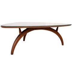Henredon Modern Triangular Coffee Table