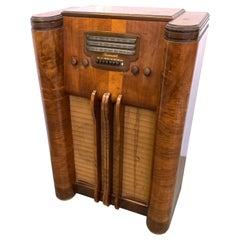Decorative Floor Radio by Farnsworth Television and Radio Corp