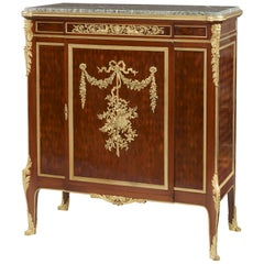 19th Century Ormolu-Mounted Parquetry Cabinet by François Linke