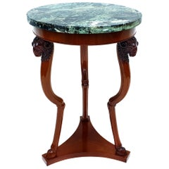 Empire Side Table/Gueridon, Paris, 1810s