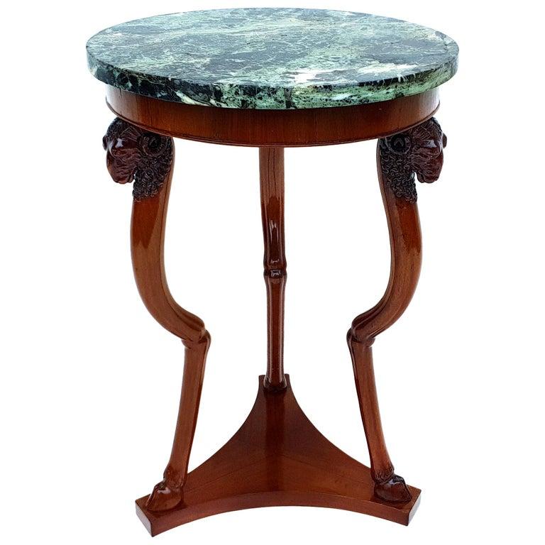 Empire Side Table/Gueridon, Paris, 1810s For Sale