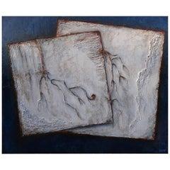 Cécile Roncier, Painting, Palimpsestes, 2017