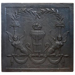 Antique Square Fireback