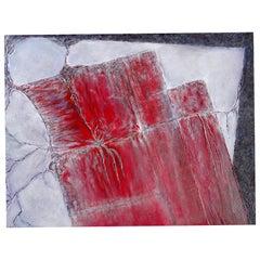 Cécile Roncier, Painting, Rubis, 2016