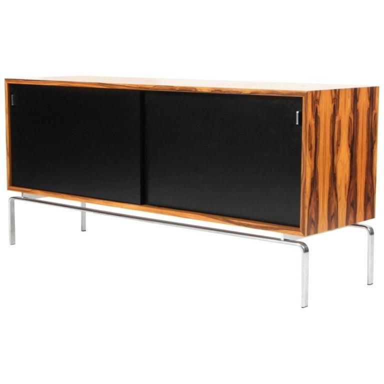 Preben Fabricius & Jorgen Kastholm Freestanding Credenza, Model FK150, Rosewood For Sale