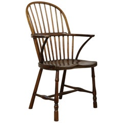 English West Country Mid-19th Century Stickback Windsor Chair